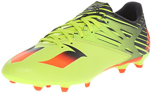 adidas Performance Men's Messi 15.3 Soccer Shoe,Semi Solar Slime/Solar Red/Black,8.5 M US (Football Messi compare prices)