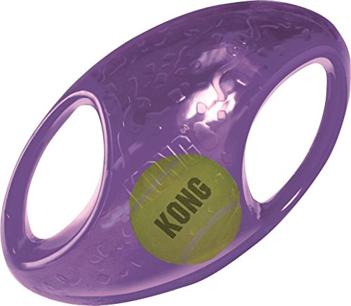 KONG Jumbler Football Toy, Large/X-Large,Color may vary (Puppy Football compare prices)