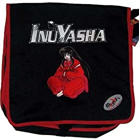 Inuyasha Human Form Sitting Messenger Bag