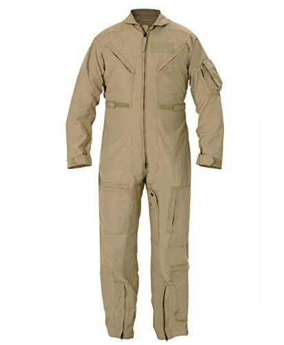 Propper Cwu 27/P Nomex Flight Suit,Air Force Tan,40 Long (Color: Tan, Tamaño: 40 Long)