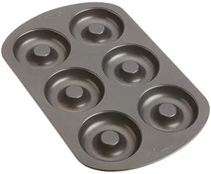 Wilton Nonstick 6-Cavity Donut Pan