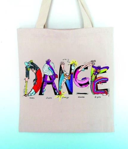 Music Treasures Co. Dance Letters Tote Bag