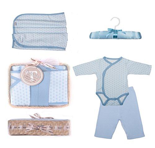 Tadpoles Starburst Gift Set, Blue, 0-6 Months, 5 Piece