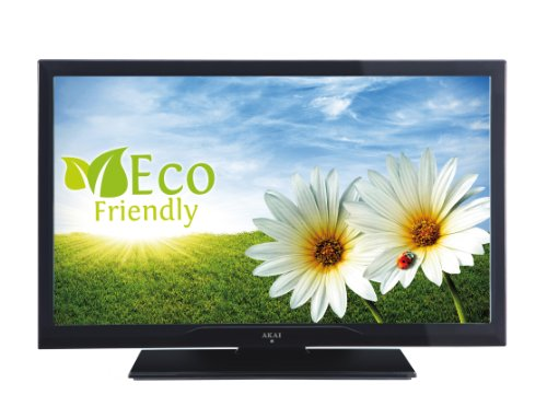 Akai AL2608TBK 66 cm (26 Zoll) LED-Backlight-Fernseher, EEK A (HD-Ready, DVB-T/-C, USB 2.0) matt-schwarz
