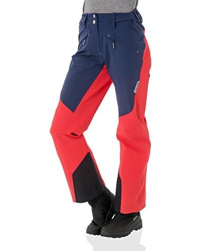 HEAD Pantalone da Sci 824156 [Rosso/Blu Navy]
