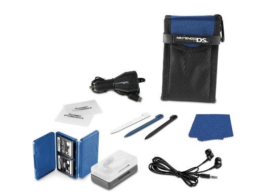 Nintendo DS Lite 15- in-1 Everyday Starter Kit - Cobalt (Nintendo Ds Lite Cobalt Blue compare prices)