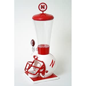 NCAA Nebraska Cornhuskers 1-Gallon Gamer Beverage Dispenser by Wild Sports