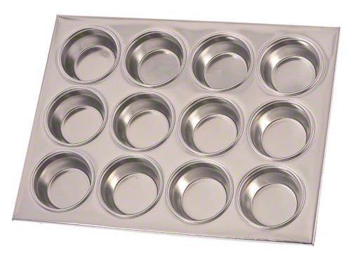 Update International (MPA-12) 12 Cup Aluminum Muffin Pan by Update International