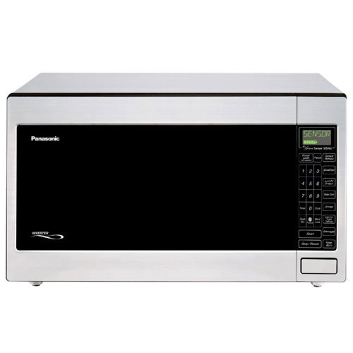 Stainless Steel Panasonic 2.2-Cu. Ft. 1250-Watt Microwave Oven. Panasonic Microwave Ovens Have 1 Touch Sensor Cooking & Reheat Making Cooking Easy For You. Benchtop Microwave Has A Popcorn Setting. Enjoy Using Your Panasonic Microwave Oven.