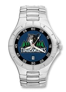 Minnesota Timberwolves Mens Pro II Watch by Logo Art