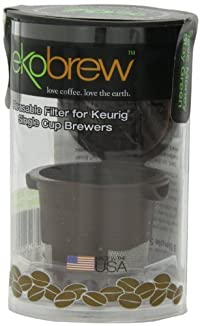 EkoBrew 40104 Reusable Filter For Keurig Single Cup Brewers Brewer
