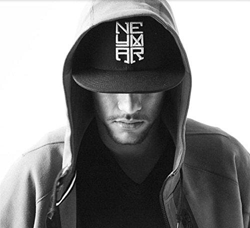 54c0e9f6426 Buy Neymar Jr Hip Hop Baseball Cap For Men   Women Fashion Adjustable Bone  Stripe Snapback Hat(Dia-18cm 8X17X10CM) on Amazon