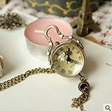 レトロ! 懐中 時計 アンティーク風 ゴールド 通販 ネックレス 時計 アクセサリー ペンダント プレゼント にも♪ 0792