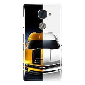 a AND b Designer Printed Mobile Back Cover / Back Case Cover For LeEco Le 2
