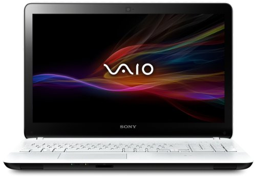 Sony SVF1521G6E Vaio Notebook 15.5 Pollici, Intel Core i3, RAM 4 GB, HDD 500 GB, Windows 8, Bianco