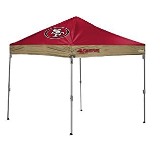 Buy NFL San Francisco 49ers 10x10 Straight Leg Canopy by Coleman