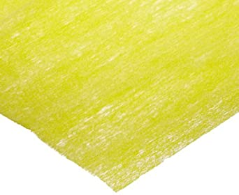 "Dynalon 626745-0002 Yellow Low Linting Golden Dusters with Poly Bag, 12"" Length x 16-3/4"" Width (Bag of 50)"