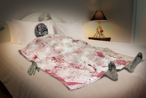 Bloody Death Bed Zombie Halloween Party Decoration