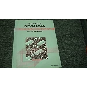2005 Toyota Sequoia Electrical Wiring Service Manual ebook ...