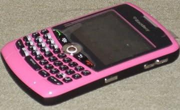 Blackberry Unlocked Phone: Hot Pink BlackBerry Curve 8330