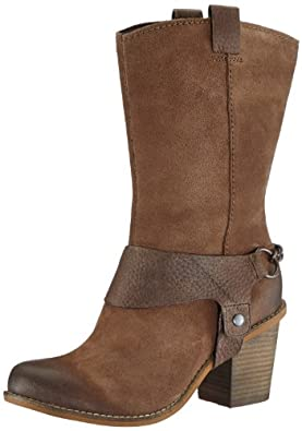 Clarks Womens Marble Opal Combat Boots  Beige Beige (Taupe Suede) Size: 4 UK (37 EU)