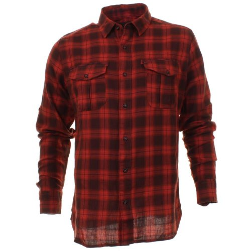 Mens Colin's Long Sleeve Cotton Casual Check Shirt Size Small