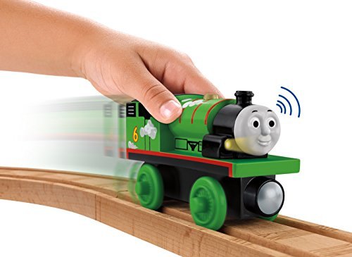 Fisher-Price Thomas Wooden Railway - Roll and Whistle Percy