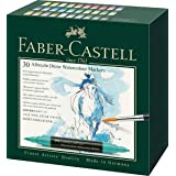 Faber-Castell Albrecht Durer Artists' Watercolor Markers - 30 Assorted Colors - Multipurpose Art Markers (Color: 0, Tamaño: us:one size)