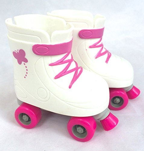 My Life As 18-inch Doll Butterfly Roller Skates, (Fits American Girl) - 1