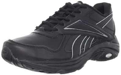 Reebok Men's DMX Max Mania Walking Shoe,Black/Flat Grey,7 M US