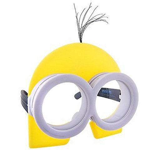 Minion Goggles Costume Glasses Sunstaches