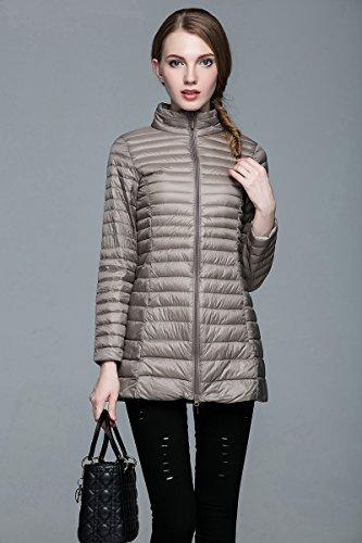 WJP donne ultra leggero rivestimento Packable gi? Outwear tampone piumino W-2379