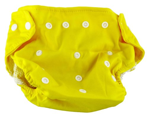 Cloth Baby Diaper (Yellow)