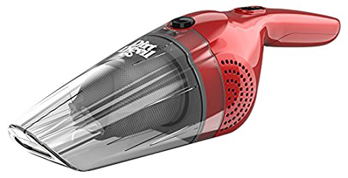 Dirt Devil HandiMate Wet and Dry Handheld Vacuum Cleaner, 7.2 V, 0.4 Litre, 50 W, Red