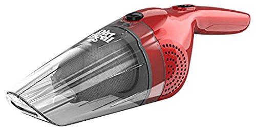 Dirt Devil HandiMate Wet and Dry Handheld Vacuum Cleaner, 7.2 V, 0.4 Litre, 50 W, Red