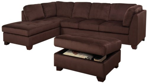 Phenomenal Cheap Abbyson Living Arlington Sectional Sofa And Storage Creativecarmelina Interior Chair Design Creativecarmelinacom