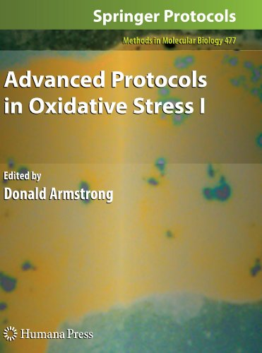 Advanced Protocols In Oxidative Stress I (Methods In Molecular Biology)