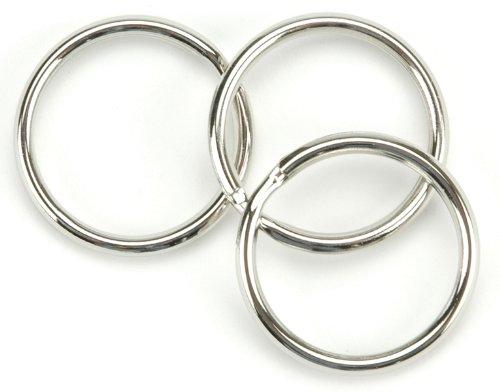 Leather Factory Split Key Ring 1-1/4