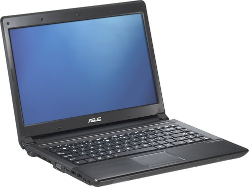 ASUS UL80J-BBK5 Intel Core i3-330um 14-Inch LED Slim Type Laptop - Black