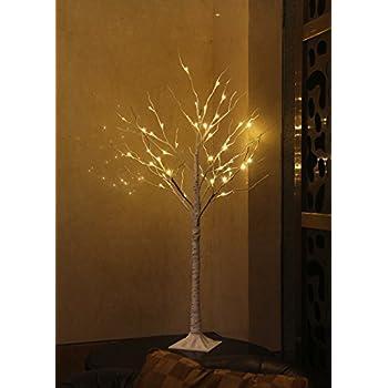 Lightshare Lighted Birch Tree, Small