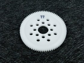 3Racing #3R/3Rac-Sg4877 48 Pitch Spur Gear 77T For Most Rc Cars