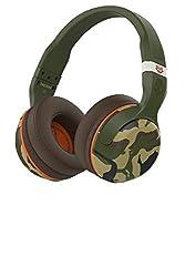 Skullcandy Hesh 2.0 Bluetooth 4.0 Wireless Headphones with Mic (Camo)