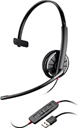 Plantronics 85618-01 Wired Headset, Black