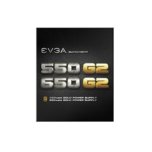 EVGA - SuperNOVA G2 650W 80+ Gold Certified Fully-Modular ATX Power Supply