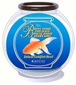 Imagine small plastic deluxe drum bowl fish for Small plastic fish bowls