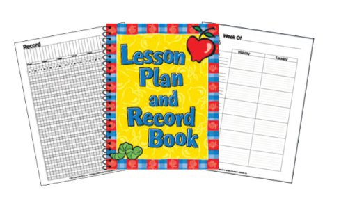Eureka Lesson Plan/Record Book, 40 Weeks, 8.5 inches  11 inches - 1
