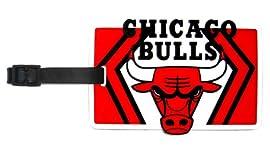 Chicago Bulls - NBA Soft Luggage Bag Tag