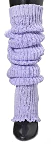 Lavender Knee High Loose Knit Leg War…