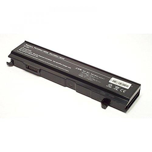 Batterie pour type PA3399, 6 cellules, Li-Ion, 10.8 V, 4400 mAh, noir