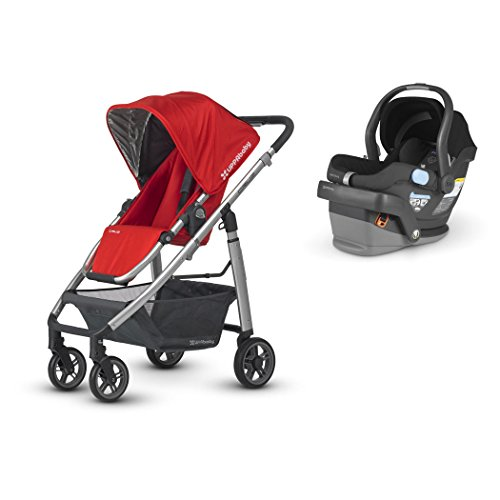 UPPAbaby Cruz Travel System with Mesa, Denny - 1